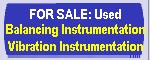 BalancingUSA.com offers a variety of used/reconditioned balancing and vibration analysis instrumentation and accessories for sale